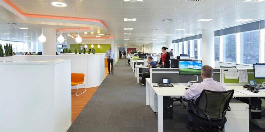 illuminazione uffici