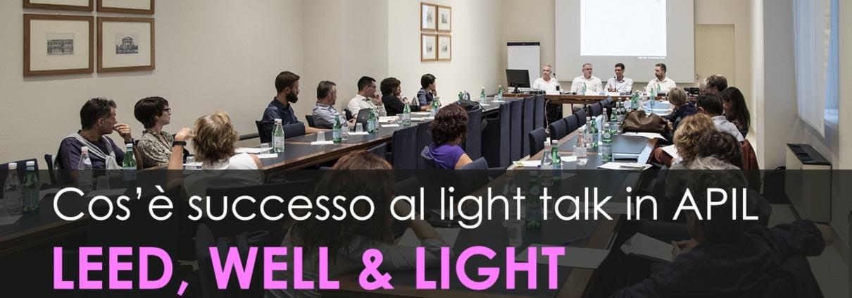 Light Talk LEED WELL LIGHT